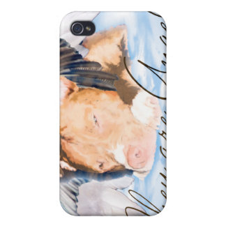 iPhone They are Angels (Pit Bull) iPhone 4 Cover