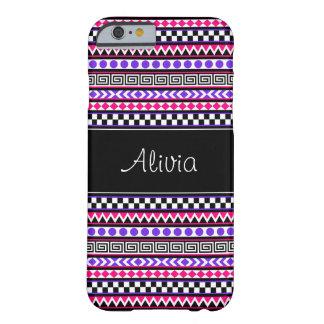 iPhone tribal azteca femenino adaptable 6 casos Funda De iPhone 6 Barely There