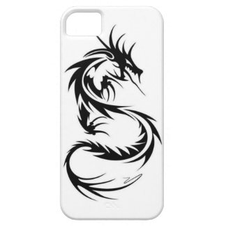 iphone tribal del dragón iPhone 5 carcasas