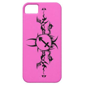 iPhone tribal del rosa del sagitario 5 casos iPhone 5 Fundas
