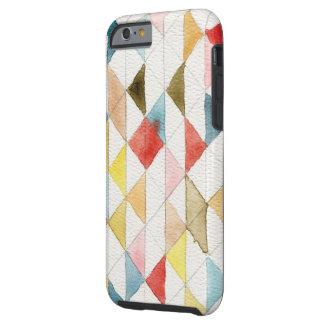 iPhone tribal geométrico de los triángulos de la Funda De iPhone 6 Tough