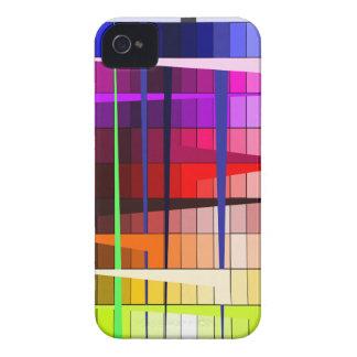 iPhone trippy colorido 4/4s del modelo iPhone 4 Case-Mate Cobertura