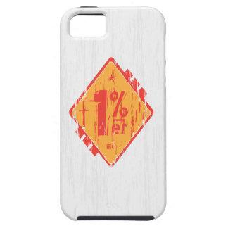 Iphone un 1% Percenter iPhone 5 Case-Mate Cárcasa