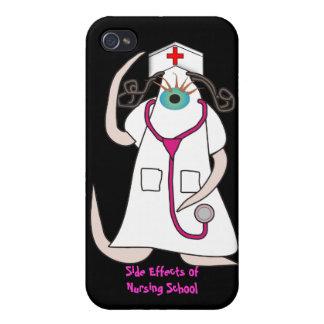 iPhone único 4 Hardcase de la enfermera con 3D los iPhone 4 Carcasas