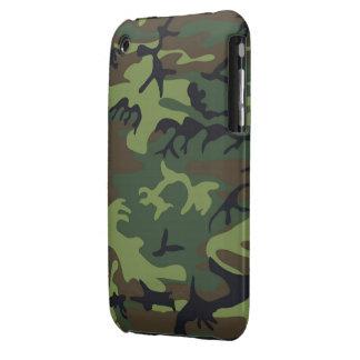 iPhone verde 3G, de Camo piel 3GS Case-Mate iPhone 3 Cárcasas