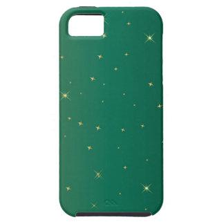 iPhone verde 5/5S, caso de la chispa del ambiente iPhone 5 Carcasa