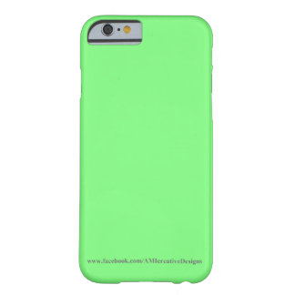 iPhone verde 6, Barely There del hielo Funda De iPhone 6 Barely There