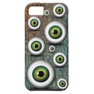 iPhone verde del ojo del iris del globo del ojo 5 Funda Para iPhone SE/5/5s