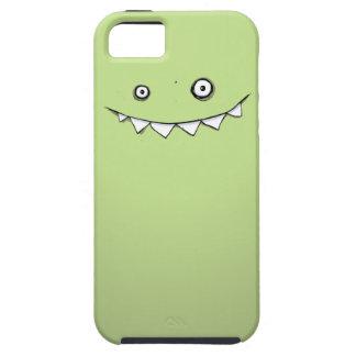 iPhone verde feliz 5 del monstruo y caso duro iPhone 5 Case-Mate Cobertura