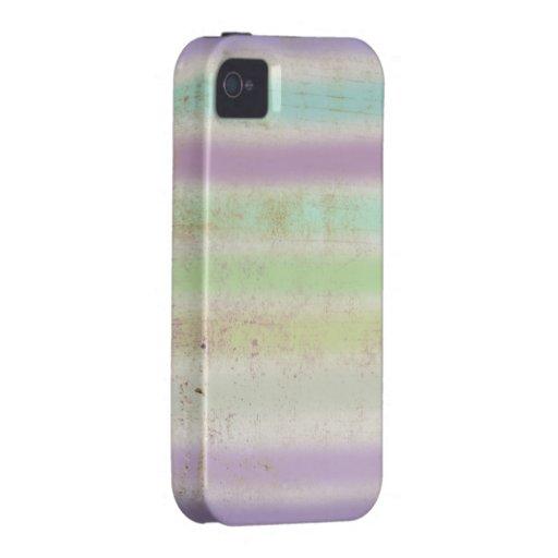 Iphone verde púrpura 4 del caso del vintage iPhone 4 fundas