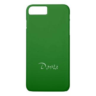 iPhone verde sólido de Doris más la cubierta Funda iPhone 7 Plus