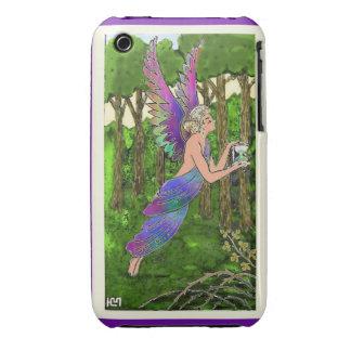 iPhone violeta de Kate del ángel de SimplyTonjia iPhone 3 Case-Mate Fundas