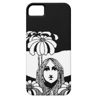 iPhone Whimsy in Black and White iPhone SE/5/5s Case