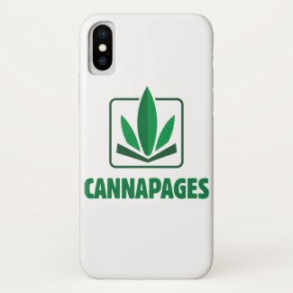 iPhone X Cannapages Case