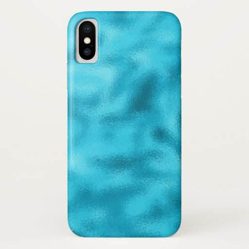 Iphone X Case Blue Water