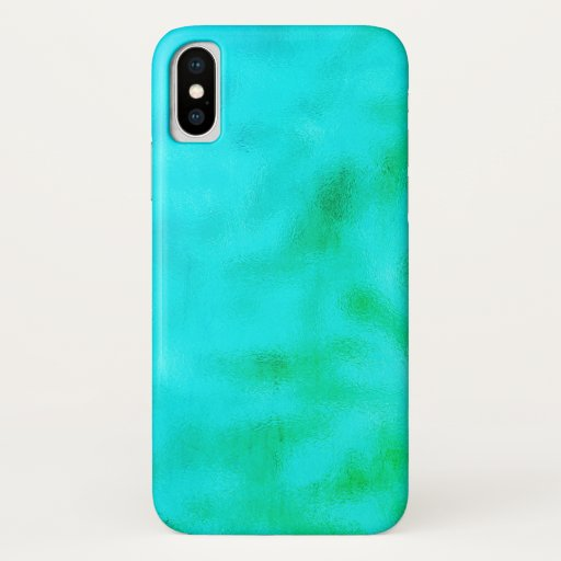 Iphone X Case Turquoise