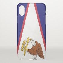 iPhone X deflector case - flag of American Samoa