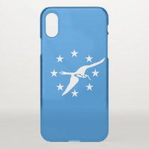 iPhone X deflector case - flag of Corpus Christi
