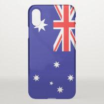 iPhone X deflector case with flag Australia
