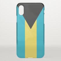 iPhone X deflector case with flag Bahamas