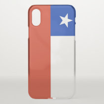 iPhone X deflector case with flag Chile