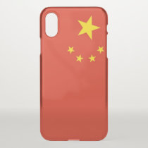 iPhone X deflector case with flag China