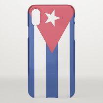 iPhone X deflector case with flag Cuba