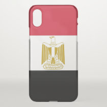 iPhone X deflector case with flag Egypt