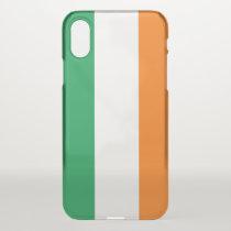 iPhone X deflector case with flag Ireland