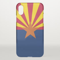 iPhone X deflector case with flag of Arizona, USA