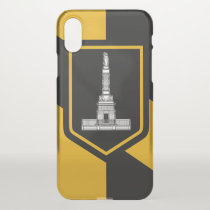 iPhone X deflector case with flag of Baltimore