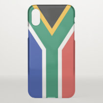 iPhone X deflector case with flag South Africa