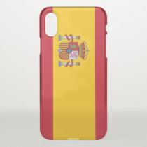 iPhone X deflector case with flag Spain