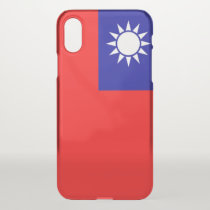 iPhone X deflector case with flag Taiwan