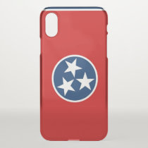iPhone X deflector case with flag Tennessee