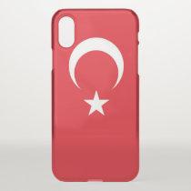 iPhone X deflector case with flag Turkey