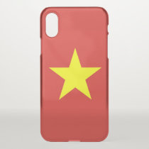 iPhone X deflector case with flag Vietnam