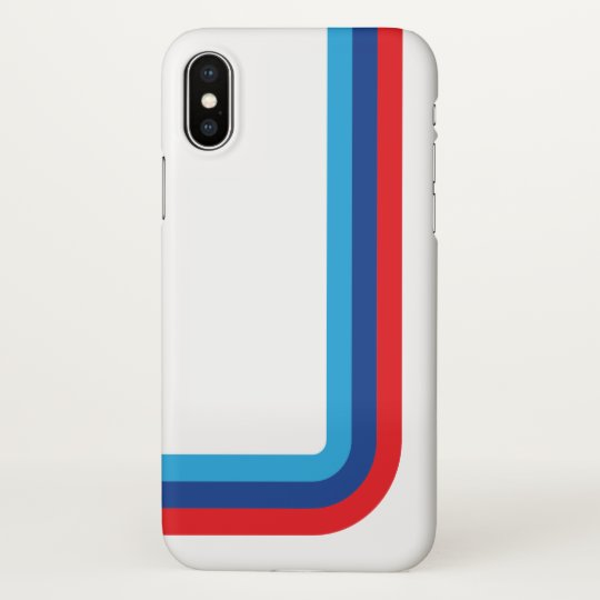 separation shoes 36c08 e8190 iPhone X, M Stripe BMW iPhone Case