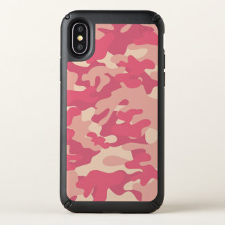 Iphone X Pink Camouflage Speck Case
