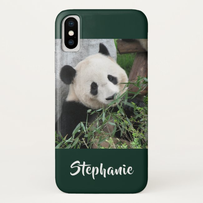 iPhone XS, XS Max, XR Case Panda Choose Color
