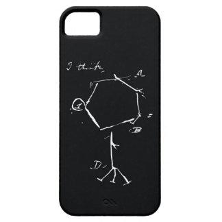 IPhone Yo-piensa Funda Para iPhone 5 Barely There