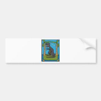 iphoneasaurus rex bumper sticker