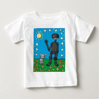 iphoneman and his cat t-shirt