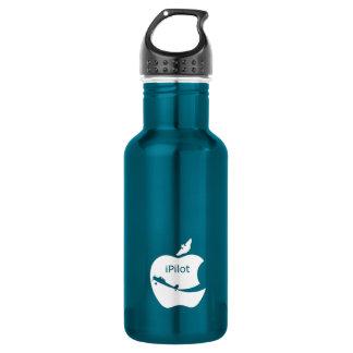 iPilot blue 18oz Water Bottle