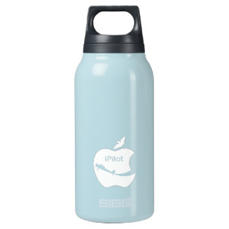 iPilot blue 10 Oz Insulated SIGG Thermos Water Bottle