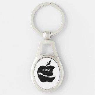 iPilot oval key chain