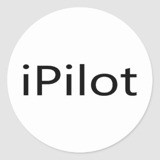 iPilot Classic Round Sticker
