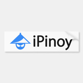 iPinoy Etiqueta De Parachoque