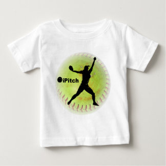 iPitch Fastpitch Softball Baby T-Shirt
