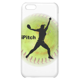 iPitch Fastpitch Softball iPhone 5C Covers